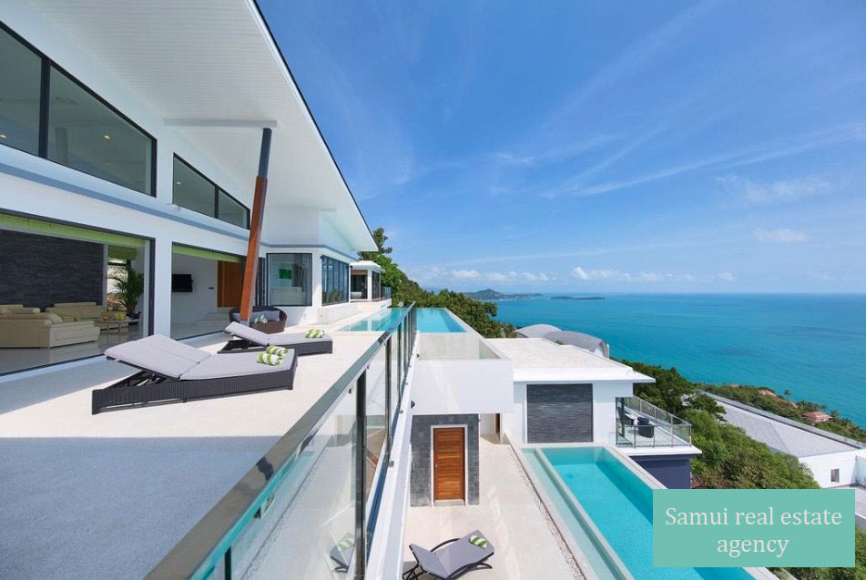 Luxury Six-Bedroom Villa with Sea View – Chaweng Noi – Koh Samui